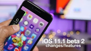 New iOS 11.1 beta 2 features / changes! 3D Touch multitasking is back!