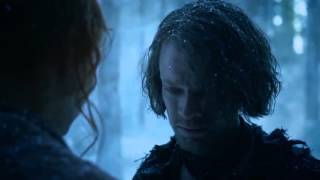 Game of Thrones S06E02  Sansa and Theon