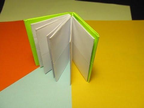 Книжечки своими руками из бумаги