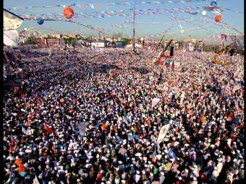 AK Parti istanbul Kazlıçeşme Mitingi Recep Tayyip Erdoğan Full Kalite LOGOSUZ