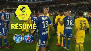 ESTAC Troyes - Paris Saint-Germain (0-2)  - Résumé - (ESTAC - PARIS) / 2017-18