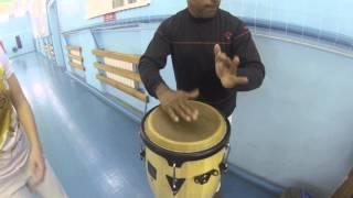 Toque Maculele, Barravento, Samba de Roda. Atabaque. Mestre Dendê Mundo capoeira