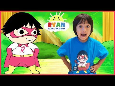 Xxx Mp4 SUPERHERO KID RYAN TOYSREVIEW CARTOON Ryan Saves Gus Animation Video For Children 3gp Sex