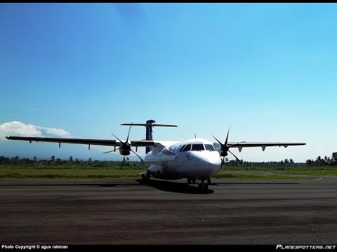 REAL SOUND!! Landing at Blimbingsari Airport - BANYUWANGI  (BWX)