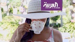 صباح العربية: كيف تنسقين طاولة الحديقة لشرب الشاي؟