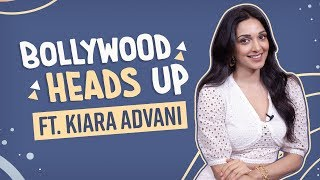 Kiara Advani plays Bollywood Heads Up ft. Salman Khan, Sidharth Malhotra, Alia Bhatt | Pinkvilla