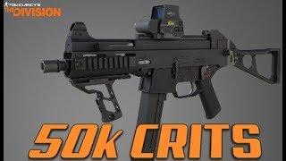 This gun can hit 50K CRITS!?!! - The Division 1.8.1