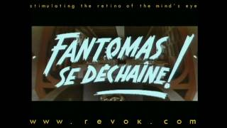 FANTOMAS SE DECHAINE (1965) French trailer for the sequel FANTOMAS STRIKE BACK