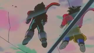 Dragon Ball GT - Goku and Vegeta Fusion (Hindi HD)