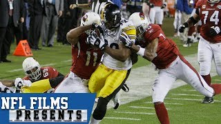 Larry Fitzgerald: All-Time Super Bowl Play    NFL Films Presents
