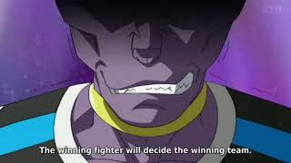 Monaka Vs Hit! Dragon ball super episode 40 (English subbed)!!