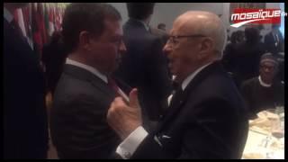 السبسي يدعو ملك الاردن لزيارة تونس