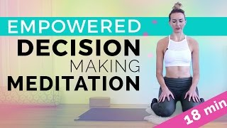 Kundalini Yoga Meditation To Empower Your Decision Making (18-min) Guided Meditation Full Class