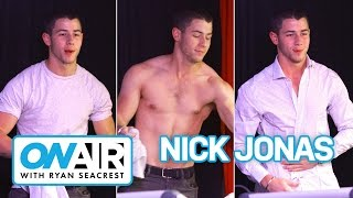 Nick Jonas Strips Down! | On Air with Ryan Seacrest