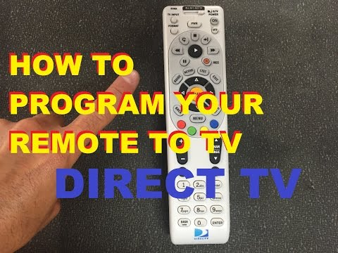 Xxx Mp4 How To Program Your Directv Remote To Your Tv Easy 3gp Sex