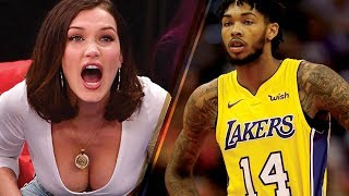 Bella Hadid Goes CRAZY Supporting Her New Boyfriend