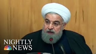 Iran President: Donald Trump Has No Right To Sympathize With Protesters | NBC Nightly News