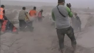 Mount Sinabung volcano kills 16: Harrowing footage of the eruption and its aftermath