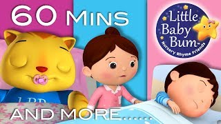 Bedtime Songs | Part 2 | Nursery Rhymes | 60 Minutes Compilation from LittleBabyBum!