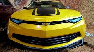 2015 Chevrolet Camaro Prototype from Transformers 4 Movie-Exterior Walkaround-2014 NY Auto Show