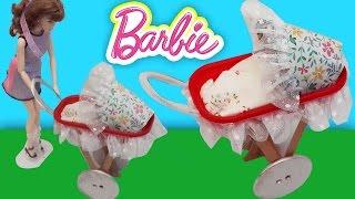 Barbie Bebek Arabası Yapımı | Oyuncak Butiğim