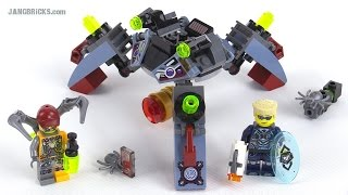 LEGO Ultra Agents Spyclops Infiltration review! set 70166