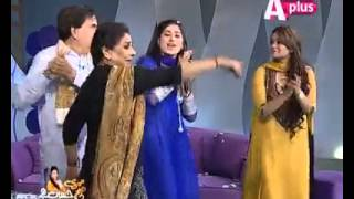 Qandeel baloch in APLUS morning show