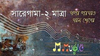 কন্ঠ সাধনা, সারেগামা #৩,গলা লাগাও গান শেখো, saregama vocal#3, tutorial