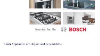 Bosch Appliance Repair Los Angeles