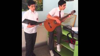 Antranig Khachadourian and Hrachya Zakaryan - Im Pokrik Navak