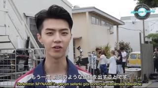 MYNAME - Hello Again MV Yapım Görüntüleri (Türkçe Altyazılı)