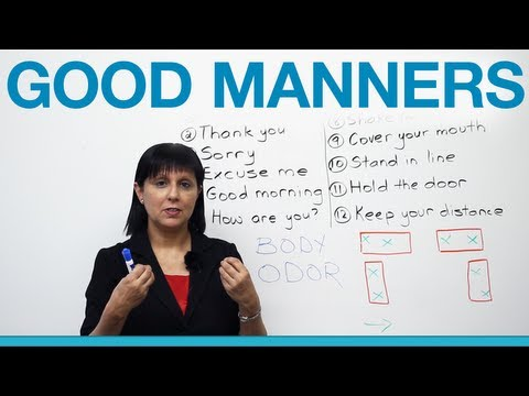 Xxx Mp4 Good Manners What To Say And Do Polite English 3gp Sex