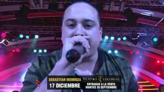 Sebastian Mendoza en vivo en Pasión de Sábado 19/09/2016