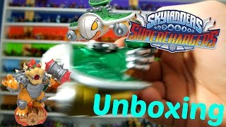 Hammer Slam Bowser and Clown Cruiser DUAL Pack Unboxing! - Skylanders Superchargers