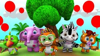 Kids Animal Songs Collection   Nursery Rhymes and Baby Songs by Little Treehouse