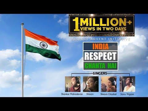 Xxx Mp4 INDIA RESPECT CHAHTA HAI Official Video Song Shankar Mahadevan Shaan Shreya Ghoshal Sonu Nigam 3gp Sex