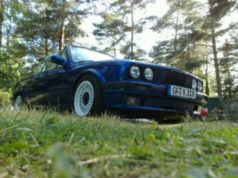 BMW E30 3 18 I 325I Cabrio Neuaufbau pt 1
