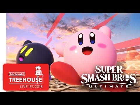 Super Smash Bros. Ultimate Gameplay Pt. 9 Nintendo Treehouse Live E3 2018