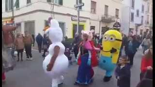 Le Parate Del #Natale con Archimossi e le sue Mascotte