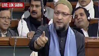 You decriminalised Sec 377 but are criminalising Triple Talaq: Owaisi