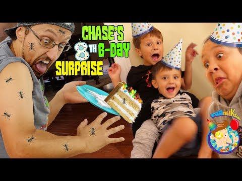 CHASE Turns 8 HAPPY BIRTHDAY ANTS FV Family Vlog