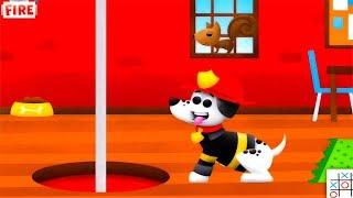 Fire trucks for children kids - Cartoons for Children - Cars for kids cartoons spiderman games 2017