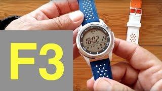 No.1 F3 DIGITAL Smartwatch: Review & FREE Bands!