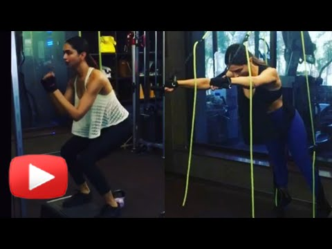 New Video Of Deepika Padukone Sexy Workout VIDEO | XXX: Return OF Xander Cage