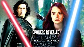 INSANE The Rise Of Skywalker Leaks Will Shock Fans (Star Wars Episode 9)