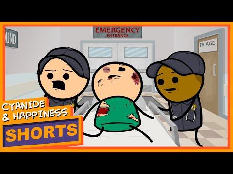 Emergency Cyanide & Happiness Shorts