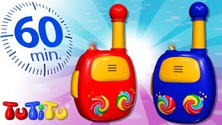 TuTiTu Specials | Walkie Talkie | And Other Popular Toys For Children | 1 HOUR Special