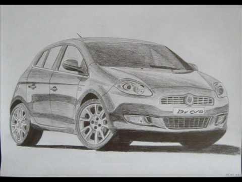 Szkice i rysunki samochodów