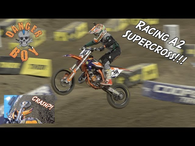 Dangerboy Deegan races A2 SUPERCROSS!!!