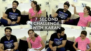 Karan Kundra And Anusha Dandekar's 7 Second Challenge | Anusha Dandekar